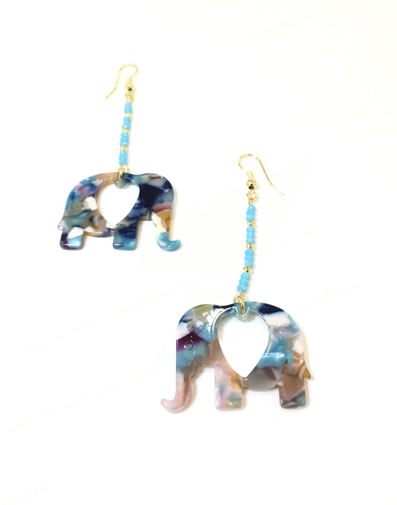 Bali elephant earrings - Danielle Emon
