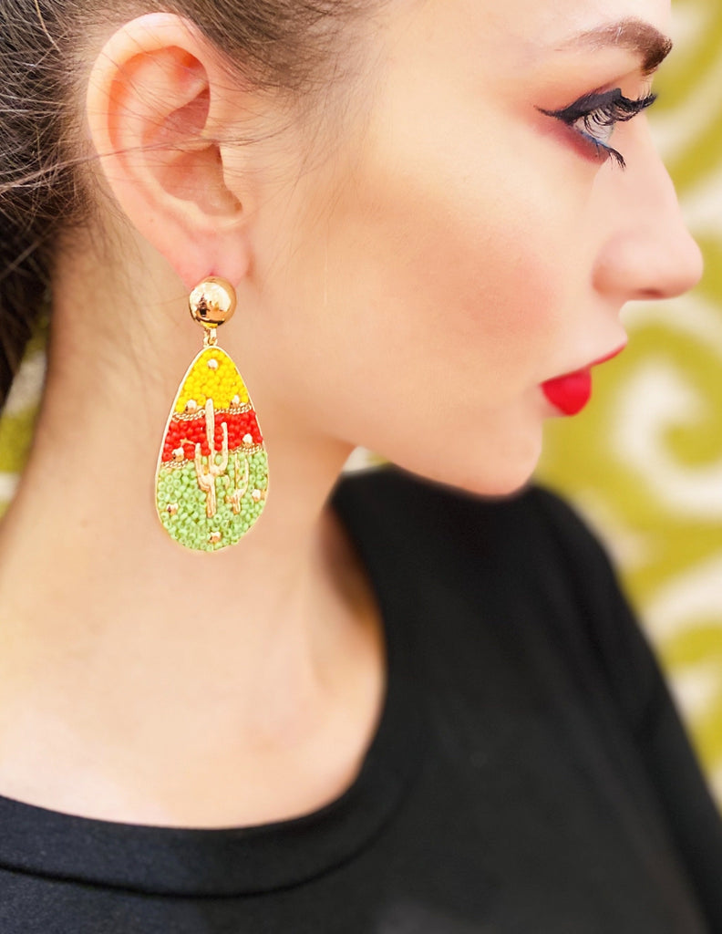 The Amelia Cactus Earrings - Danielle Emon