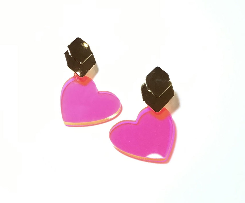 The esteran heart earrings - Danielle Emon