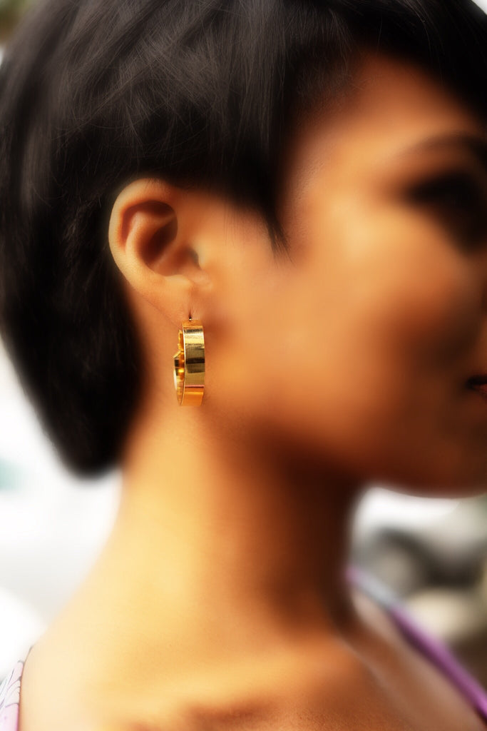 The Latanya Hoop Earring - Danielle Emon