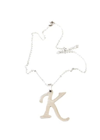 "The ""K"" Initial Necklace"