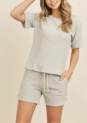 "The ""Olivia"" Loungewear Short Set"