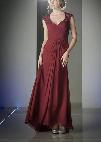 The Ruby Mother of the Bride Gown
