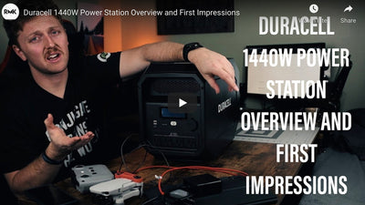 Duracell PowerSource 1440W Power Station First Impressions