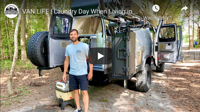 VAN LIFE | Laundry Day When Living in a Van or RV Camper Overlanding