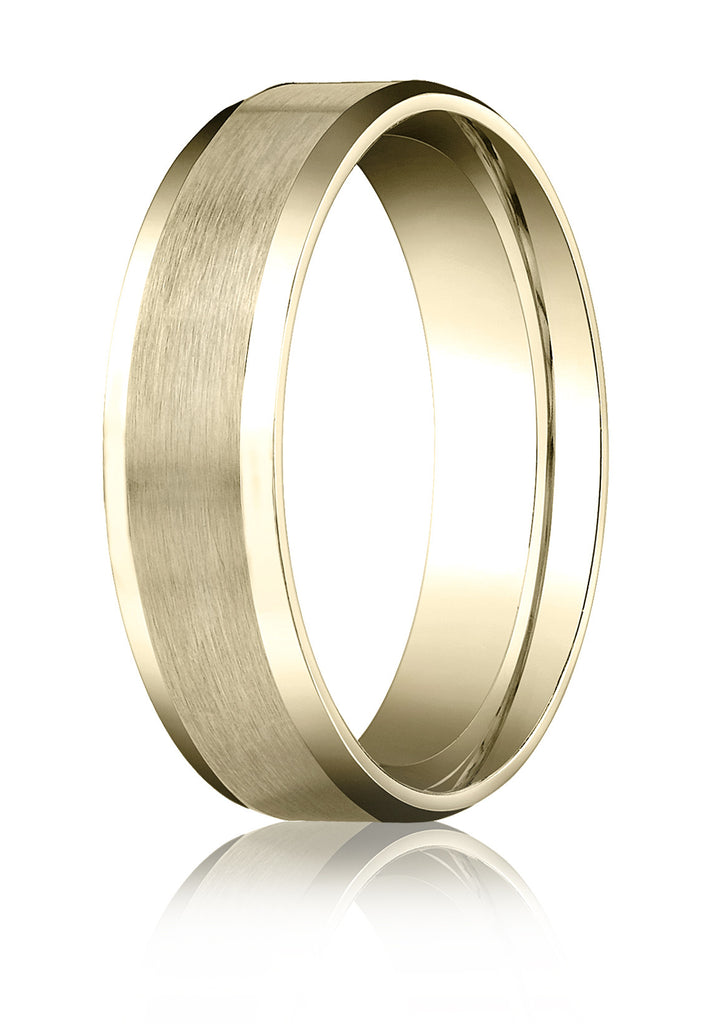 fit gold white domed comfort and wedding band bands store