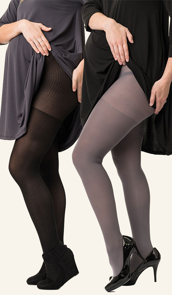 Opaque Maternity Tights