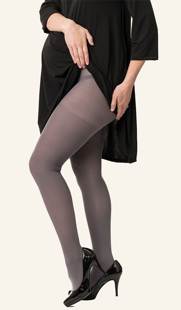 Two Pack Opaque Maternity Tights