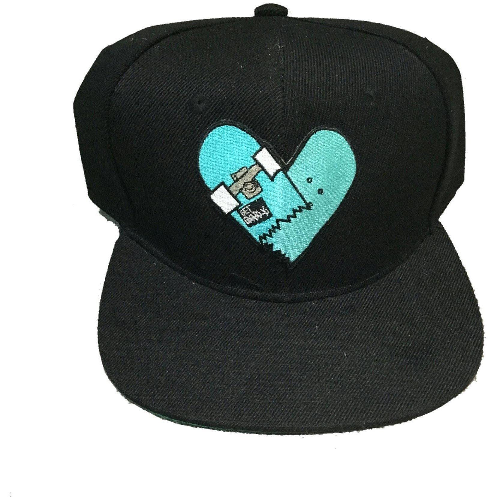 Get Gnarly Heartbreaker Snapback Black-Hat-Get Gnarly