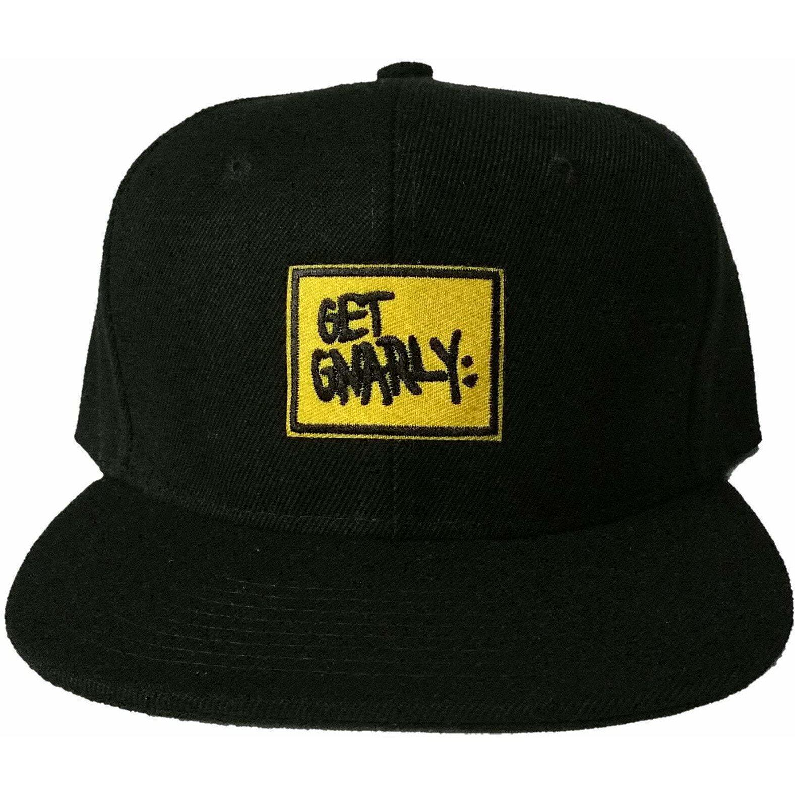 Get Gnarly Yellow Box Logo Snapback-Hat-Get Gnarly