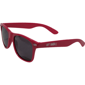 Get Gnarly UV Protective Logo Sunglasses Pink-Sunglasses-Get Gnarly