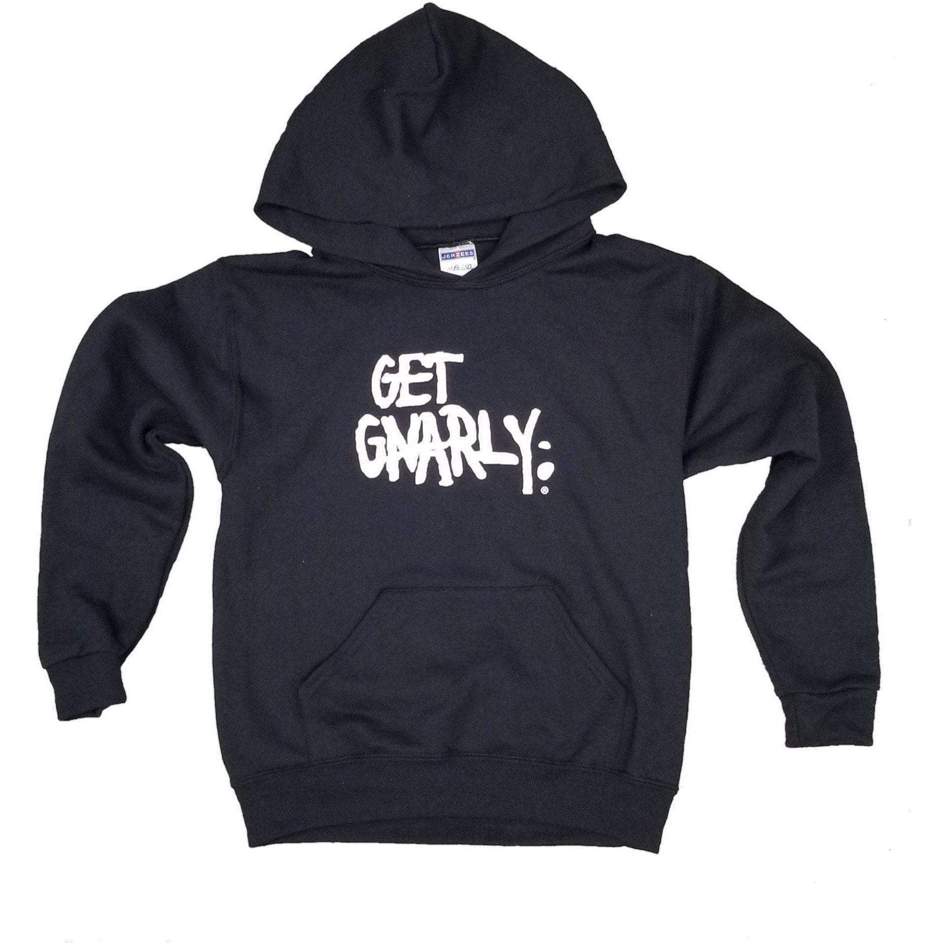 Core Logo Youth Pullover Hoodie-Sweatshirt-Get Gnarly