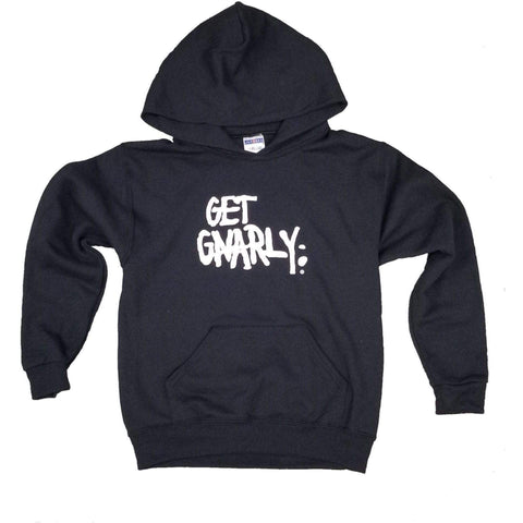 Get Gnarly Core Logo Youth Pullover Hoodie-Sweatshirt-Get Gnarly