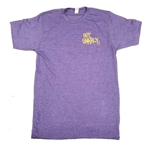 Get Gnarly Core Vintage Heather Purple Logo T-Shirt-T-Shirts-Get Gnarly
