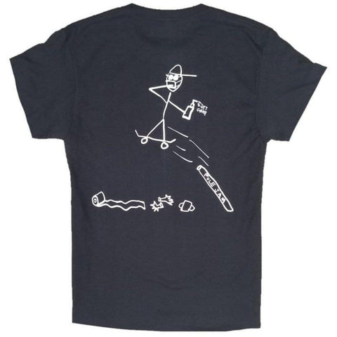 Get Gnarly Pandemic Pole Jam Youth T-Shirt-T-Shirts-Get Gnarly