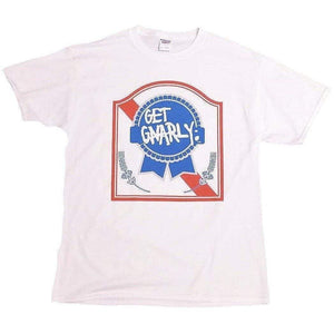 PBR Tee-T-Shirts-Get Gnarly