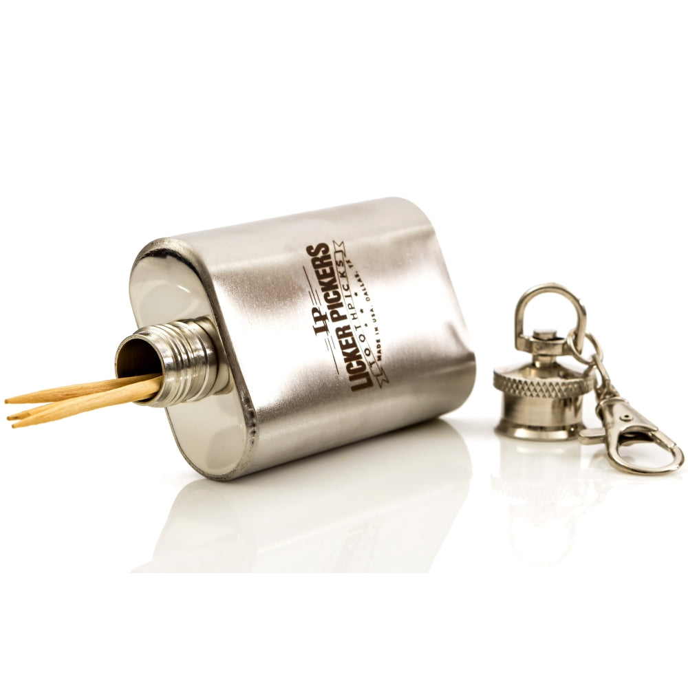 Flask Toothpick Holder - Licker Pickers Toothpicks