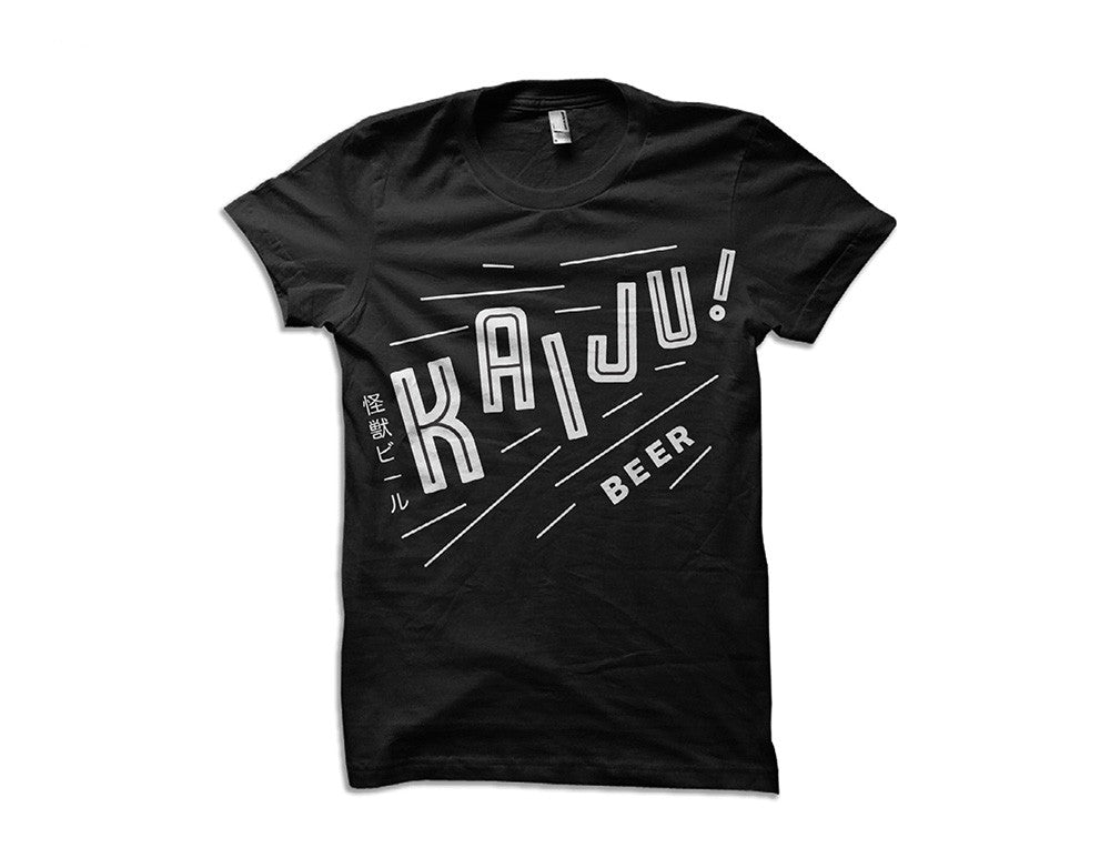 Our first KAIJU! T-Shirt is back! Limited availability!