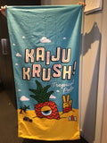 Beach Towel: KAIJU KRUSH! **BACK IN STOCK**