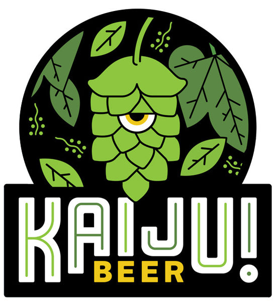 Sticker: KAIJU! Beer