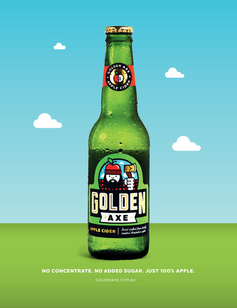 Poster: Golden Axe Cider