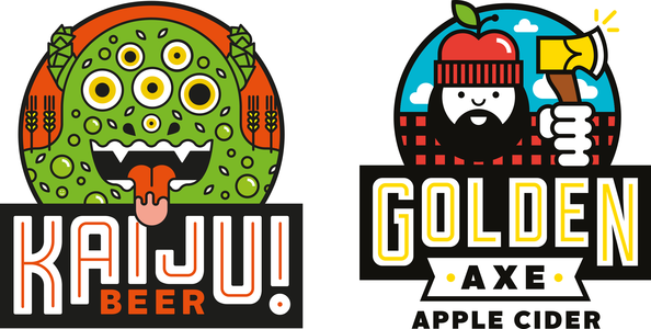 KAIJU! Beer & Golden Axe Cider