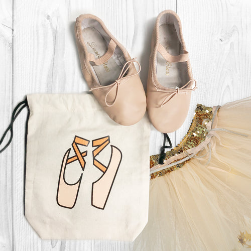 Little Ballerina Shoe Bag