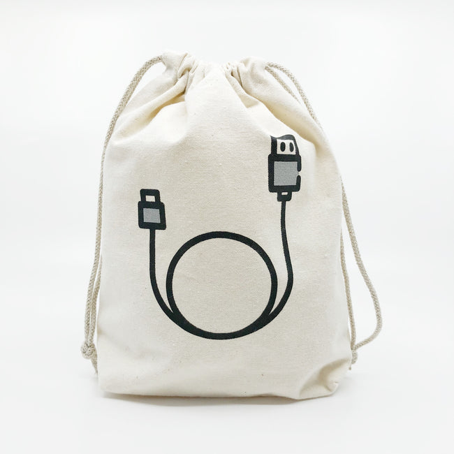 Charger cable bag