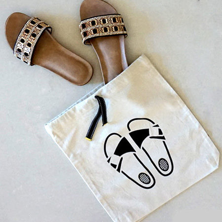 High heel bag
