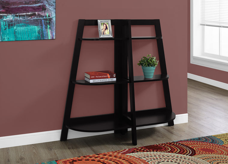 "48""H Cappuccino Accent Etagere Bookcase by Monarch Specialties - TheOfficeFurnitureDepot"
