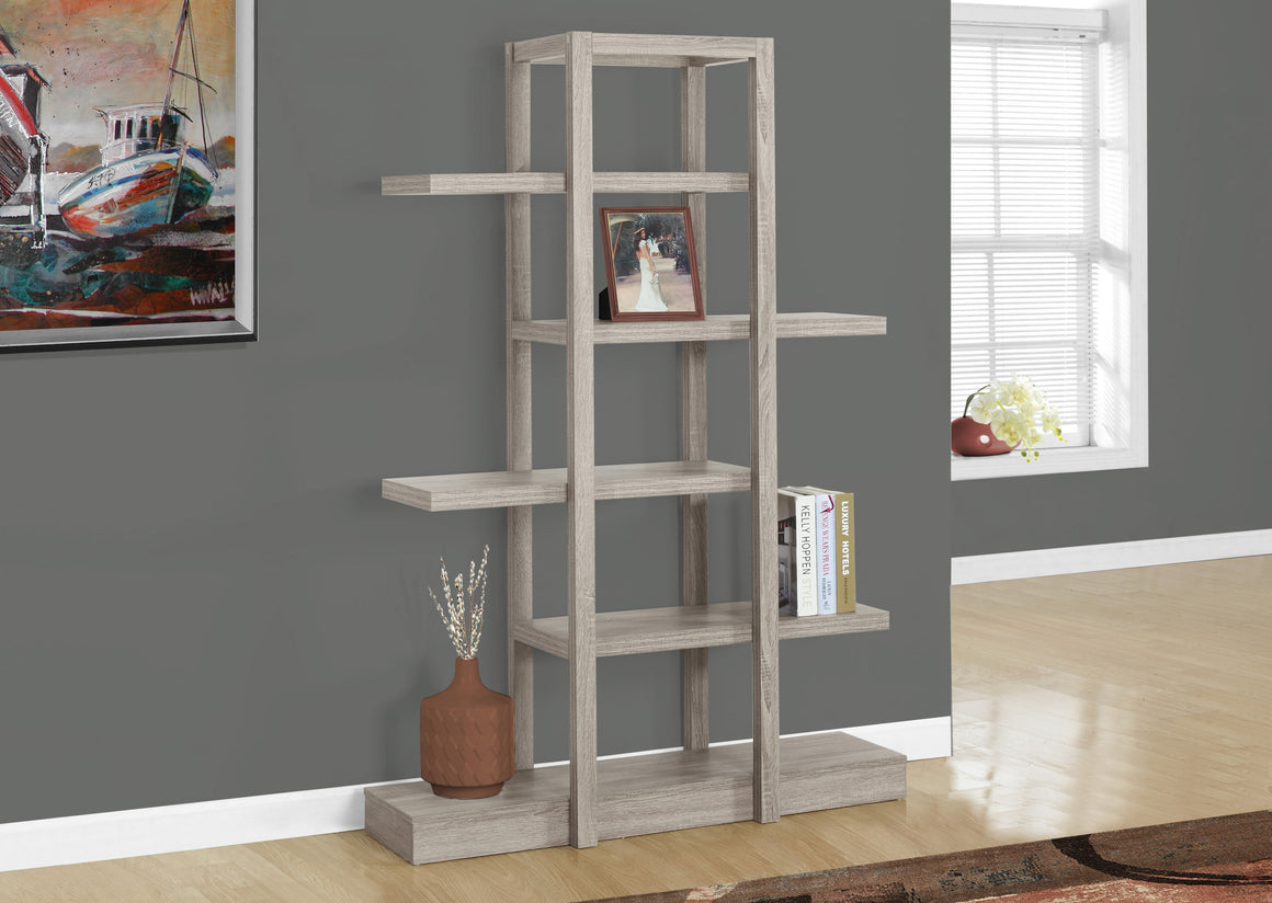 "71""H Open Concept Display Etagere Bookcase - TheOfficeFurnitureDepot"