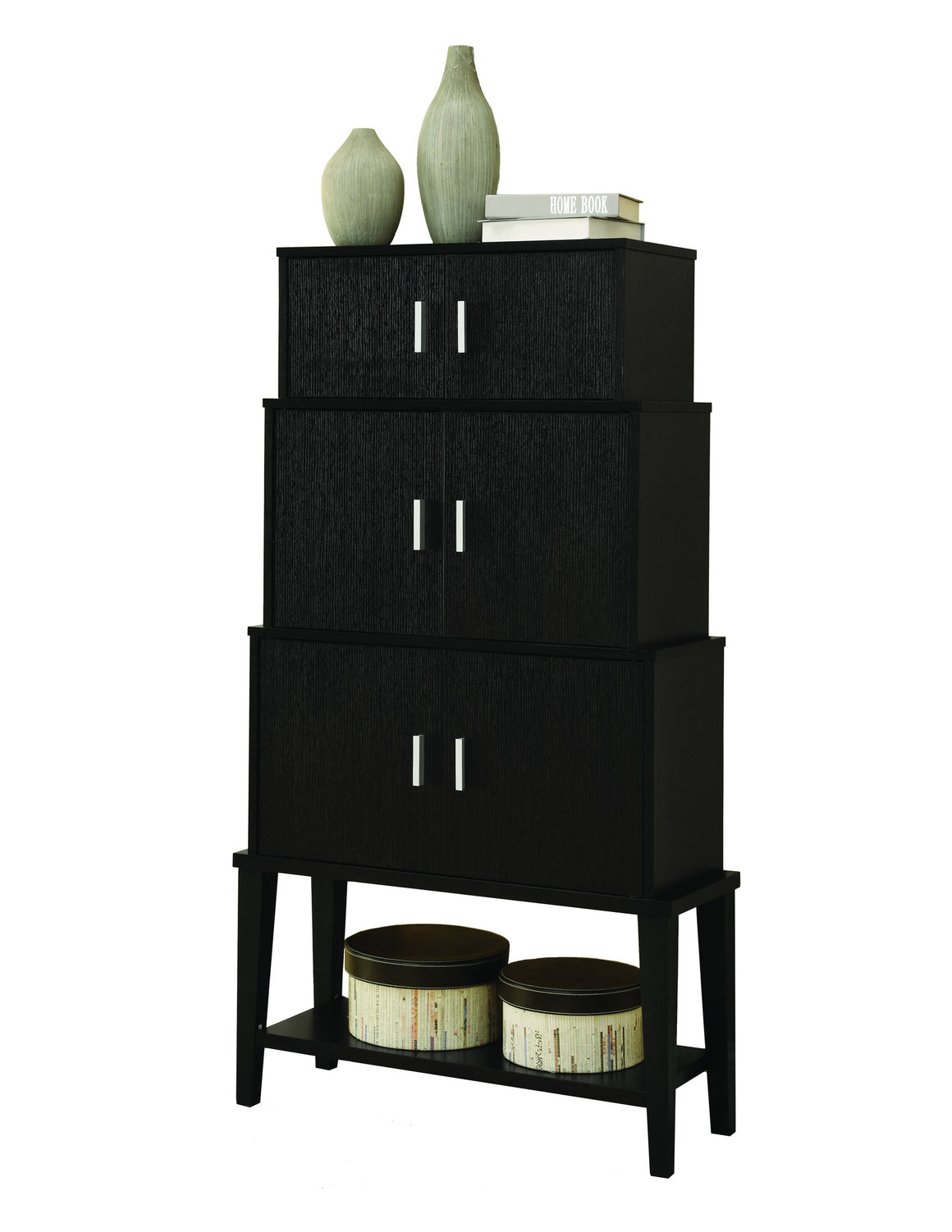 "55""H Stacking Style Cabinet - TheOfficeFurnitureDepot"