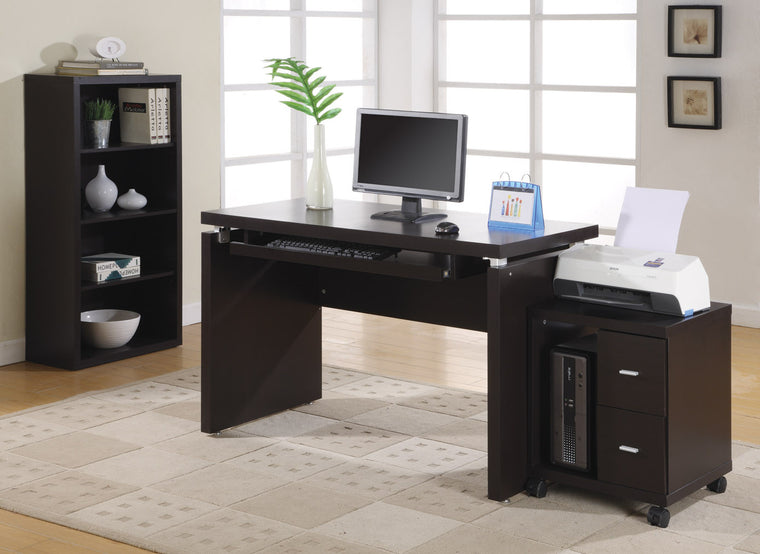 "48""L Cappuccino Computer Desk by Monarch Specialties Inc. - The Office Furniture Depot"
