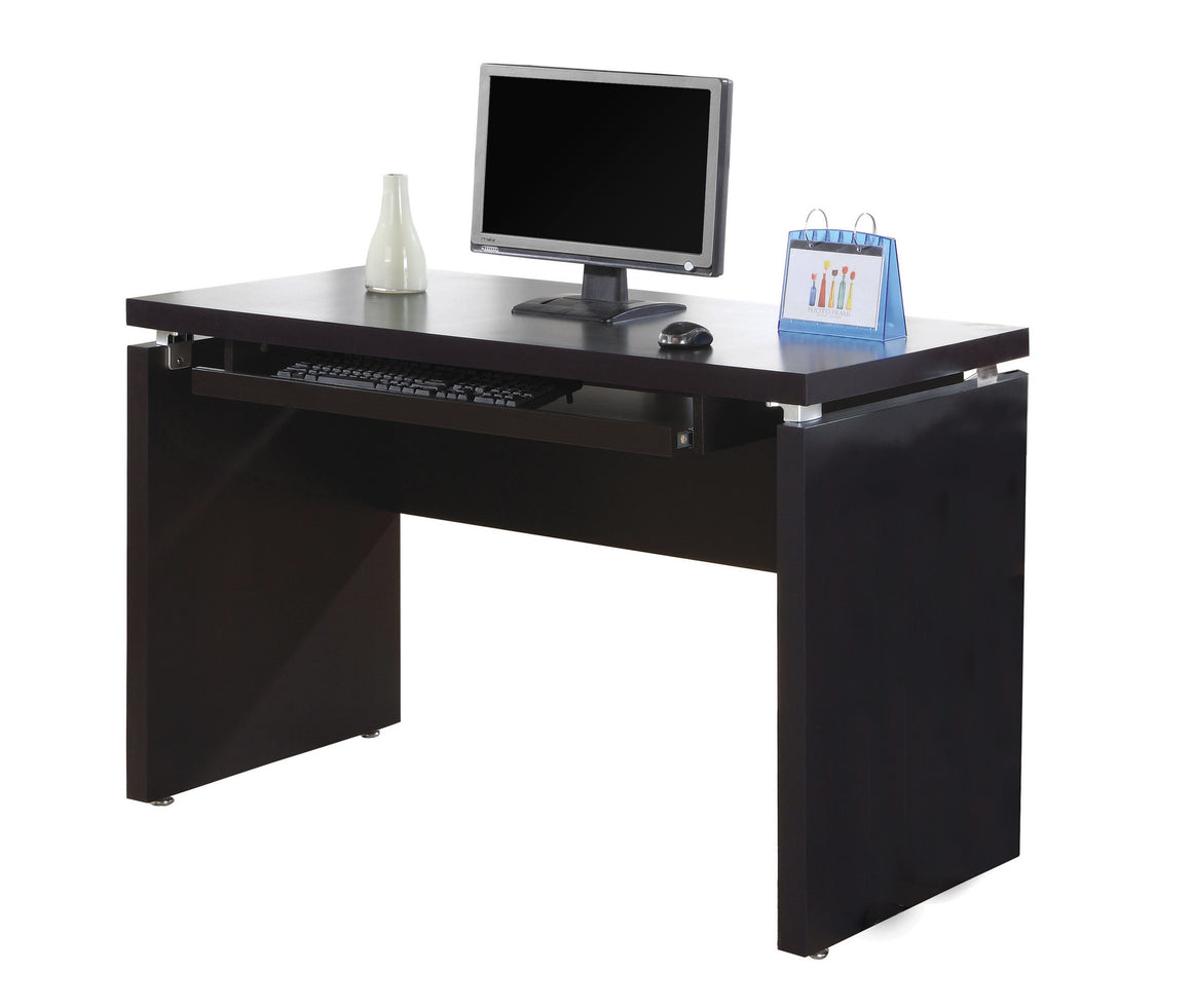 "48""L Cappuccino Computer Desk - TheOfficeFurnitureDepot"