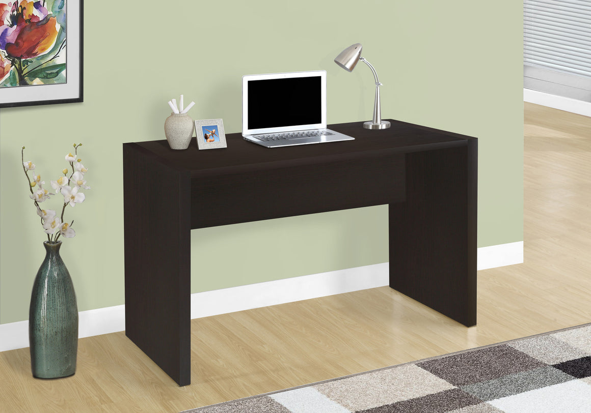 "36""L Cappuccino Computer Desk - TheOfficeFurnitureDepot"