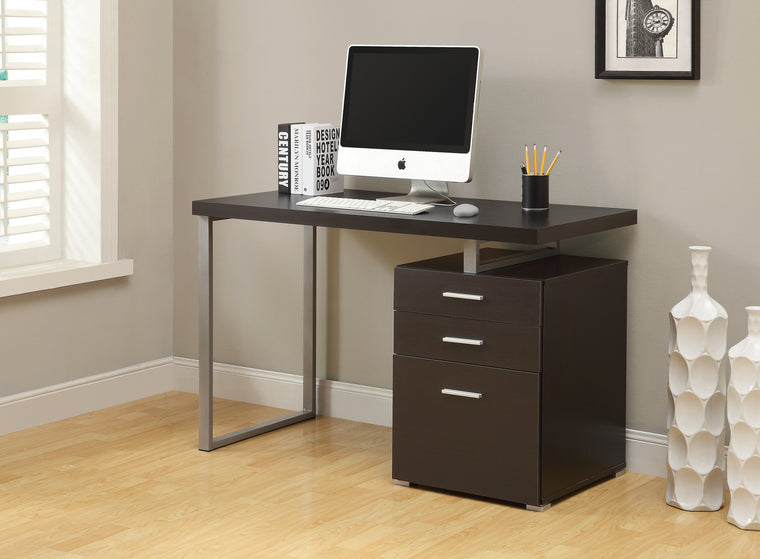 "48""L Cappuccino Computer Desk / Left Or Right Facing by Monarch Specialties Inc. - The Office Furniture Depot"