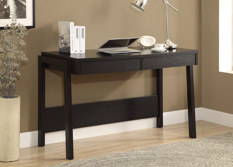 "48""L Cappuccino Computer Desk with Storage Drawer by Monarch Specialties Inc. - The Office Furniture Depot"