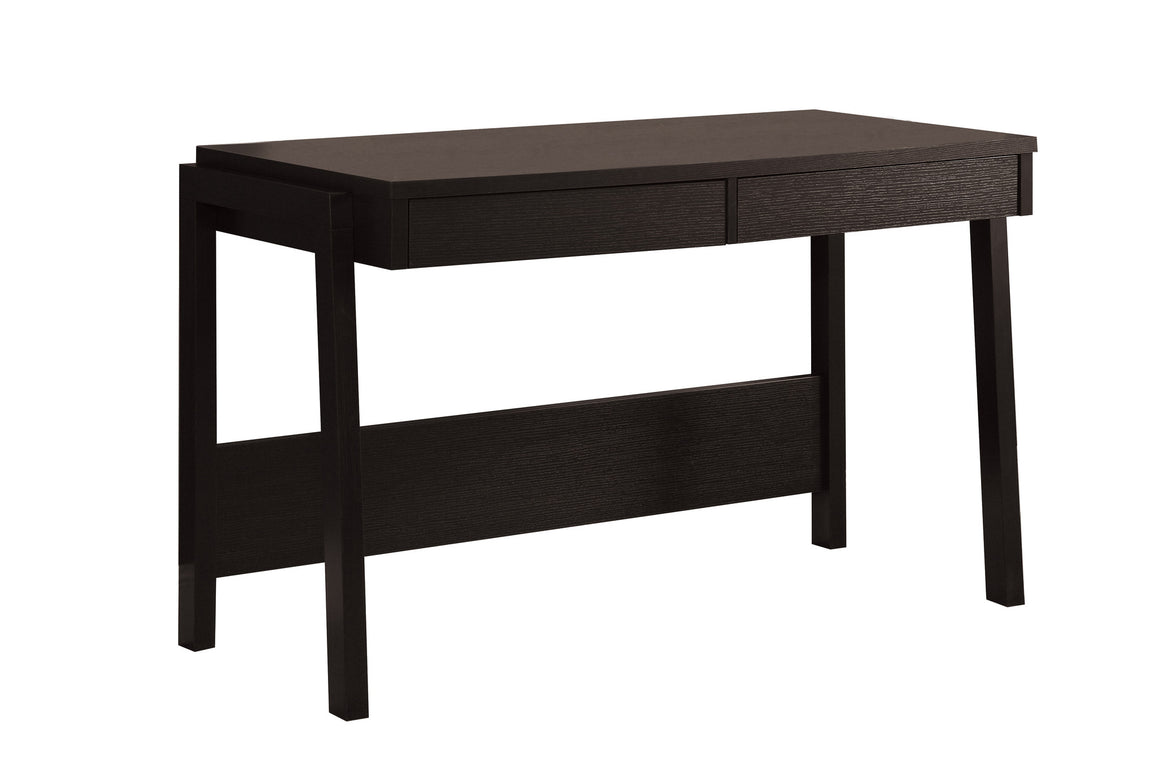 "48""L Cappuccino Computer Desk with Storage Drawer - TheOfficeFurnitureDepot"
