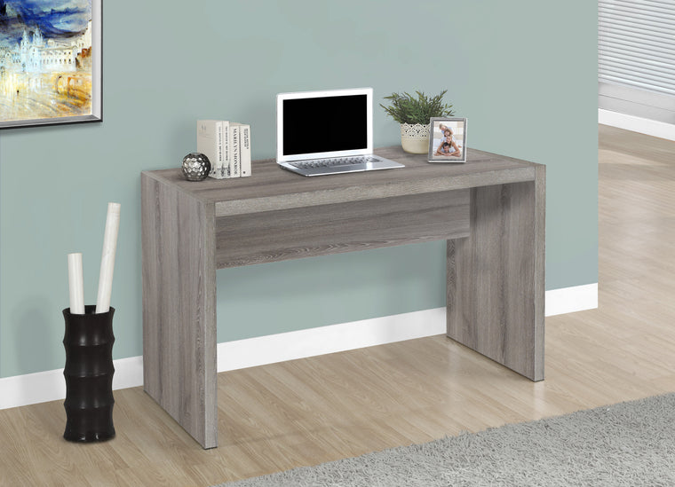 "36""L Dark Taupe Computer Desk - TheOfficeFurnitureDepot"