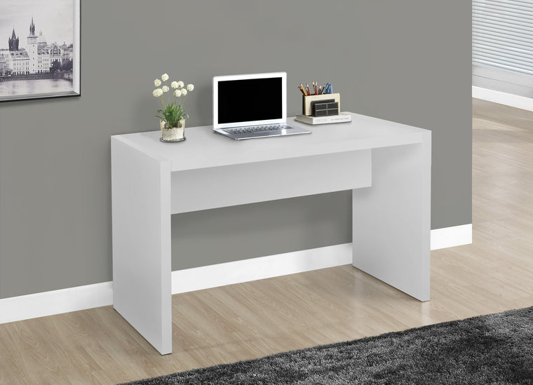 "36""L White Computer Desk by Monarch Specialties Inc. - The Office Furniture Depot"