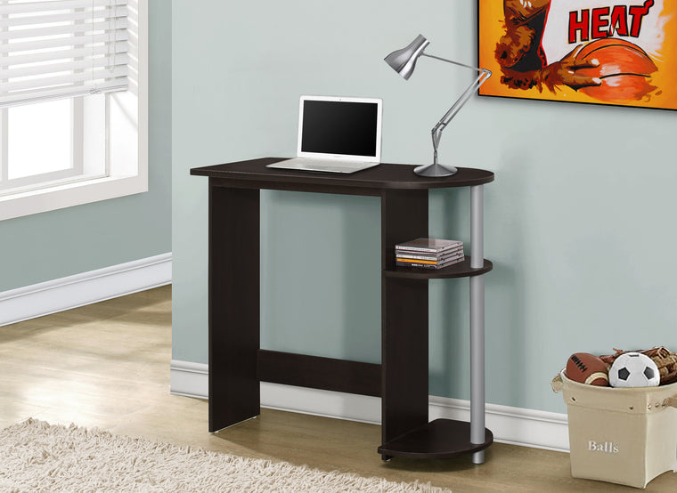 "32""L Cappuccino Juvenile Computer Desk by Monarch Specialties Inc. - The Office Furniture Depot"