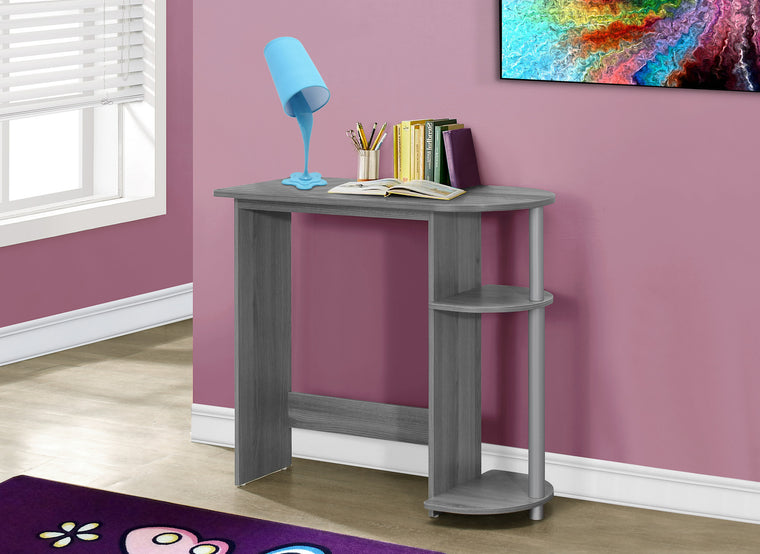 "32""L Grey Juvenile Computer Desk by Monarch Specialties Inc. - The Office Furniture Depot"