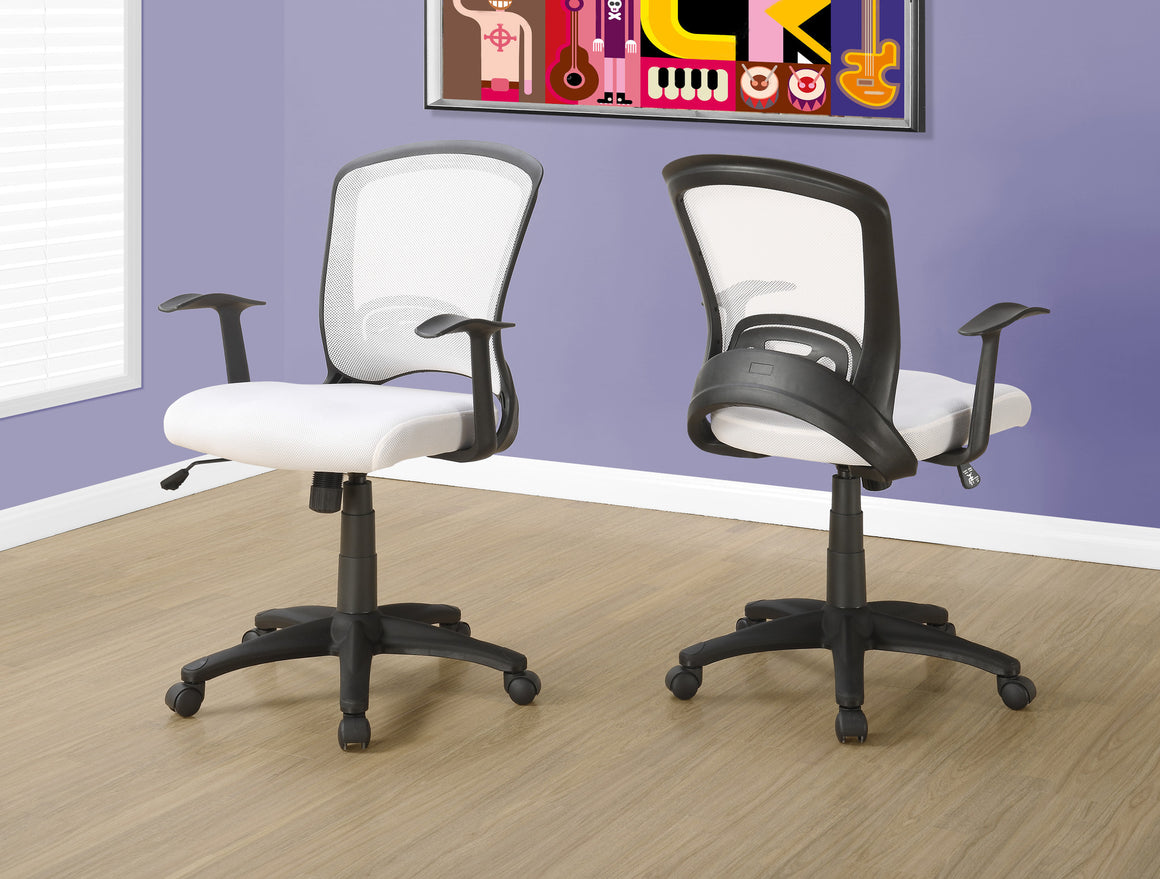 Mesh Mid-Back Office Chair / Multi-Position - TheOfficeFurnitureDepot