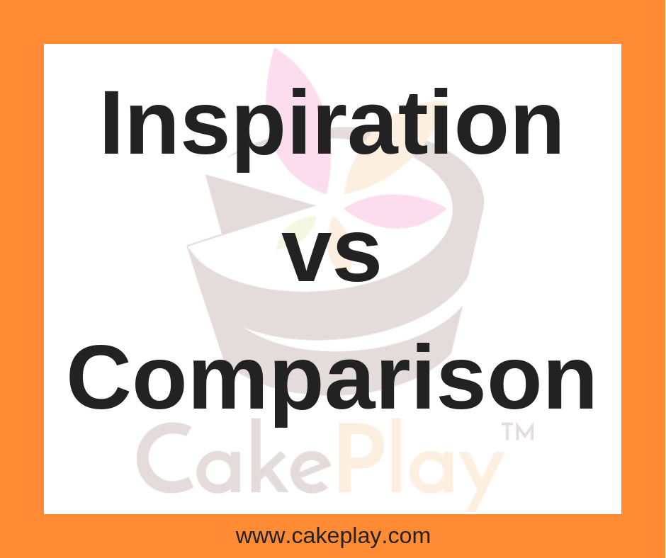 Inspiration vs. Comparison
