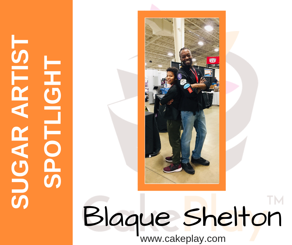 Sugar Artist Spotlight: Blaque Shelton
