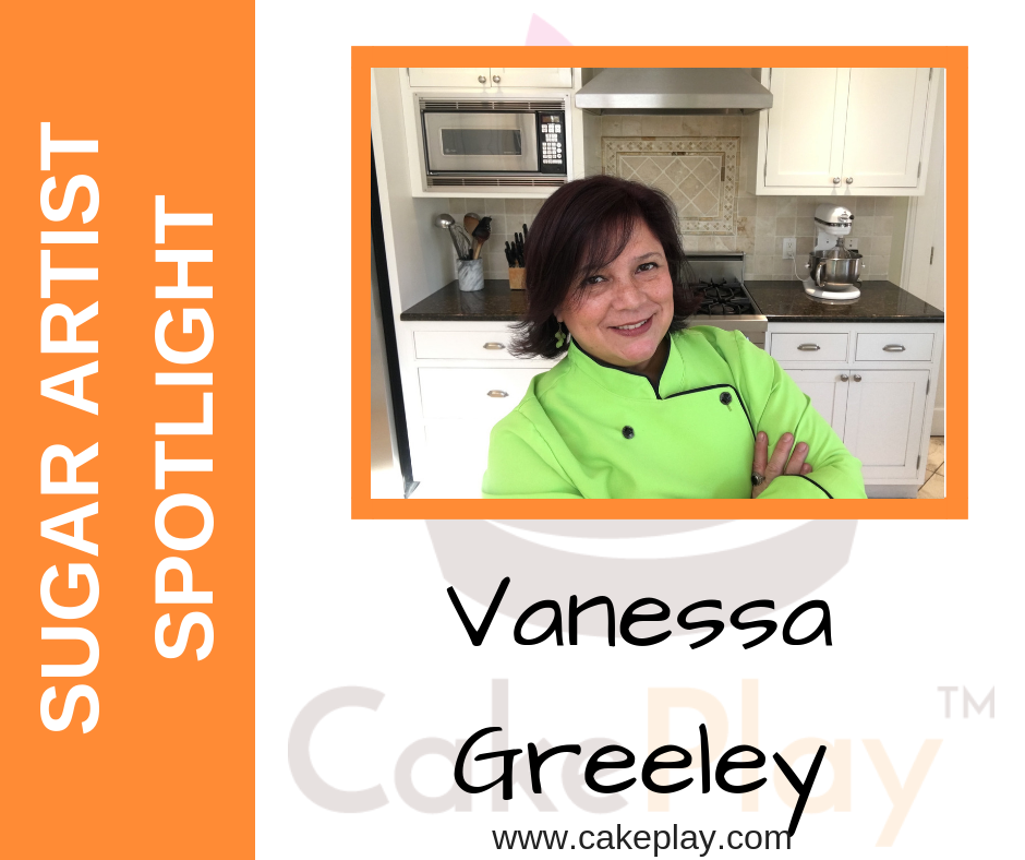Sugar Artist Spotlight: Vanessa Greeley