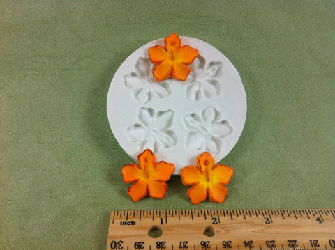 Hibiscus Flower Mold