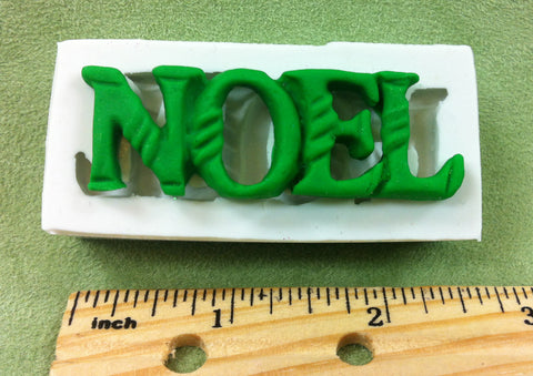 Noel Silicone Mold