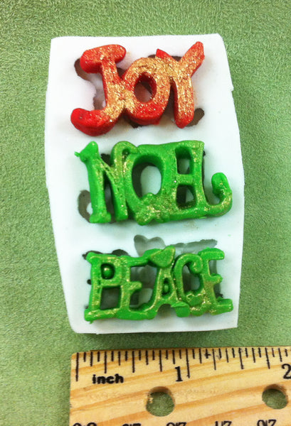 Small Joy-Noel-Peace Mold