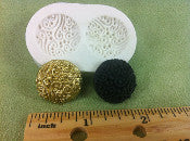 Decorative Buttons Mold